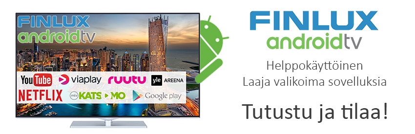 Mahtava 55 tuumainen Finlux 4K UHD Smart Led TV